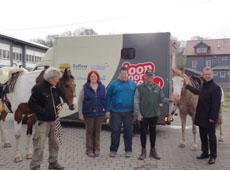 Mit dem Pferd bis nach Istanbul