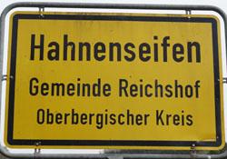 Hahnenseifen, Gemeinde Reichshof
