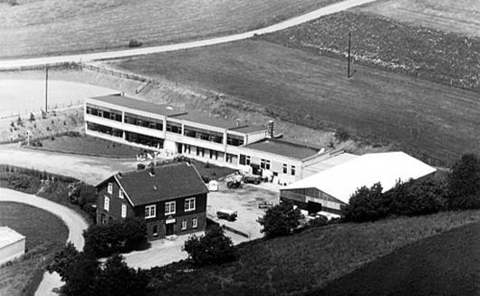 Der Rohbau im Jahre 1970