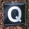 Markierung Wiehquellenweg (Q)