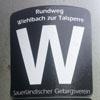 Markierung Wiehlquellen-Wanderweg (W)