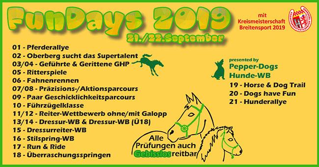 Breitensportfestival - FunDays 2019